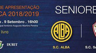 Jogo de Apresentação da equipa sénior do S.C. Alba