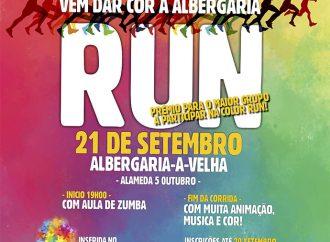 Color Run em Albergaria com novo horário