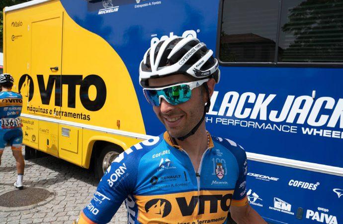 Boa prestação de Edgar Pinto na 80ª Volta a Portugal Santander