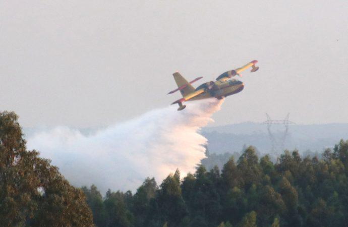 Incêndio em Assilhó combatido por 120 bombeiros
