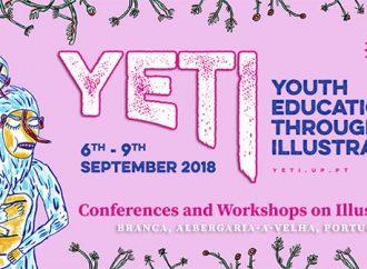 YETI 2018: Encontro anual internacional de ilustração