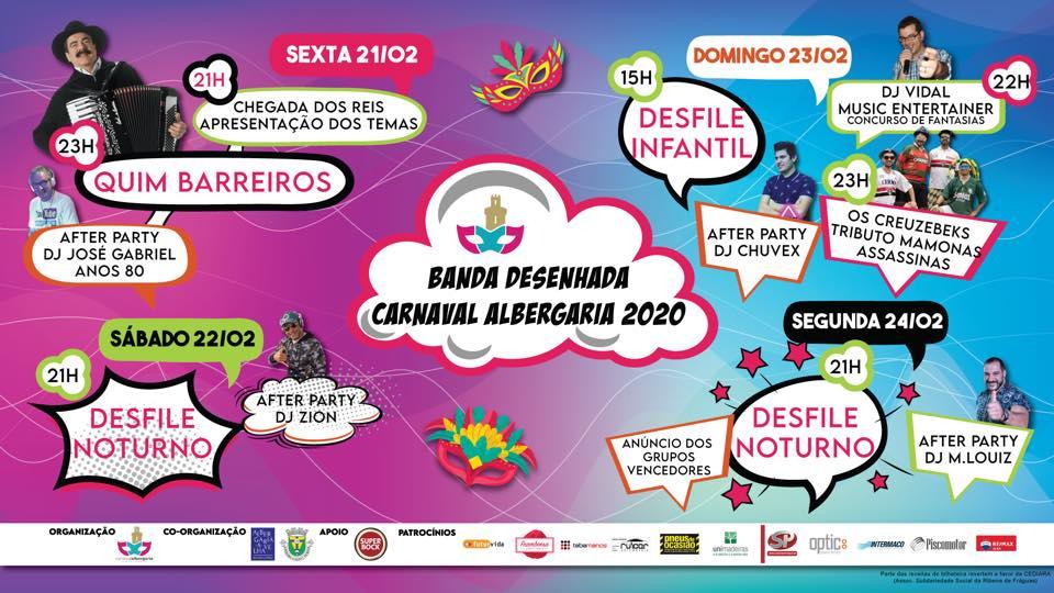 """""""Carnaval 2020 vai ser o melhor de sempre em Albergaria"""""""