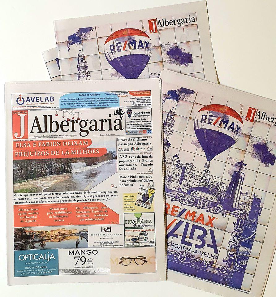 Jornal de Albergaria – Edição 42 Já nas bancas