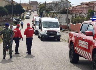 Utentes da Geriabranca transferidos para o Hospital Militar do Porto