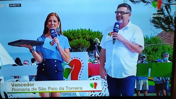 """Romaria de São Paio da Torreira representa Região de Aveiro nas """"7 Maravilhas da Cultura popular"""""""
