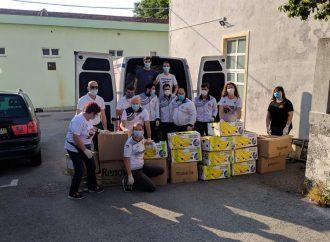 Ação Solidária: atletas do GRC Telhadela voltam a ajudar os sem abrigo