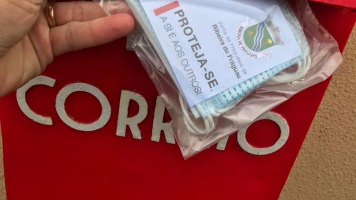 Junta de Freguesia distribui máscaras pela população