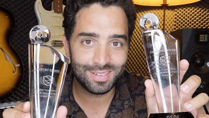 """Cantor de """"Andrà Tutto Bene"""" vence concurso internacional"""