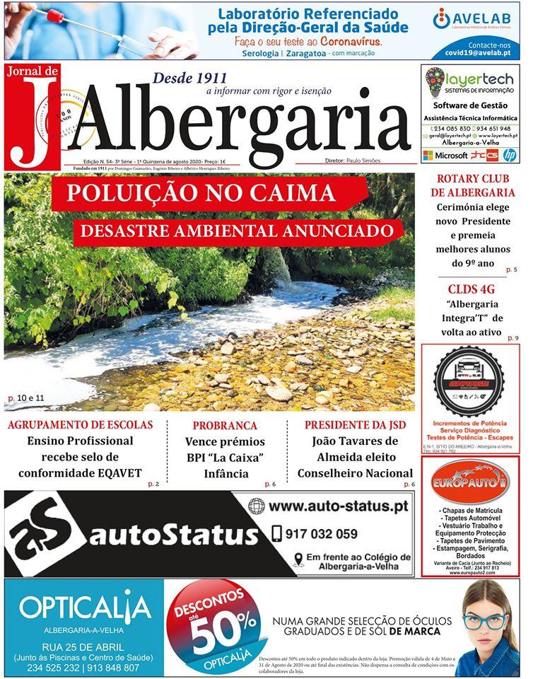 Jornal de Albergaria - Edição Digital Nº54