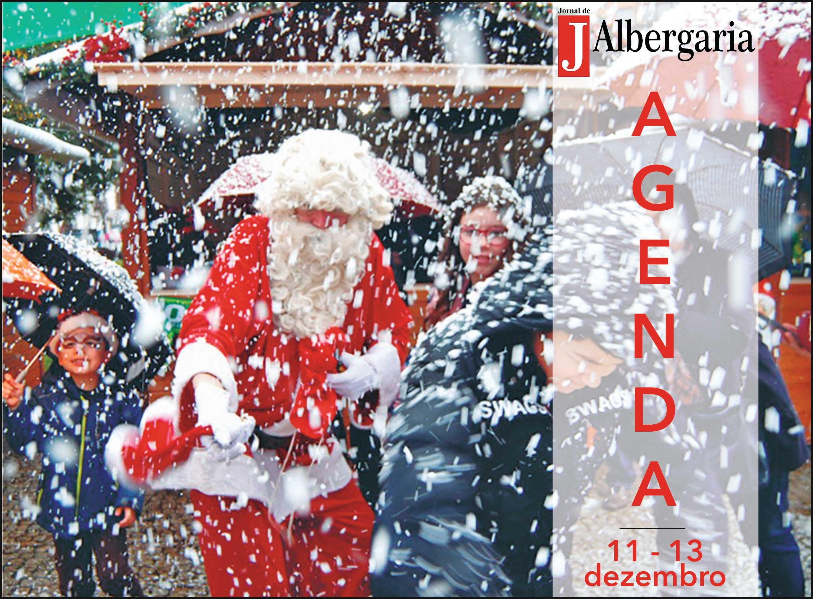 Agenda de Fim de Semana de 11 a 13 de dezembro