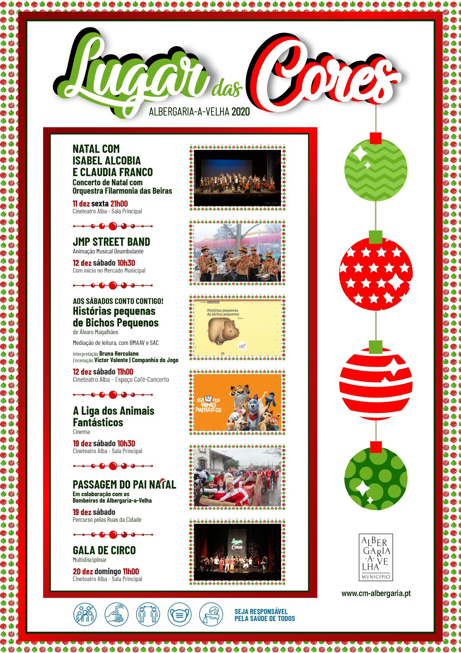 Lugar das Cores traz encanto e alegria à quadra natalícia