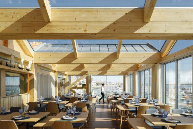 Restaurante Clube De Vela da Costa Nova, Atelier Ferreira Arquitectos. Fotografia: Ivo Tavares