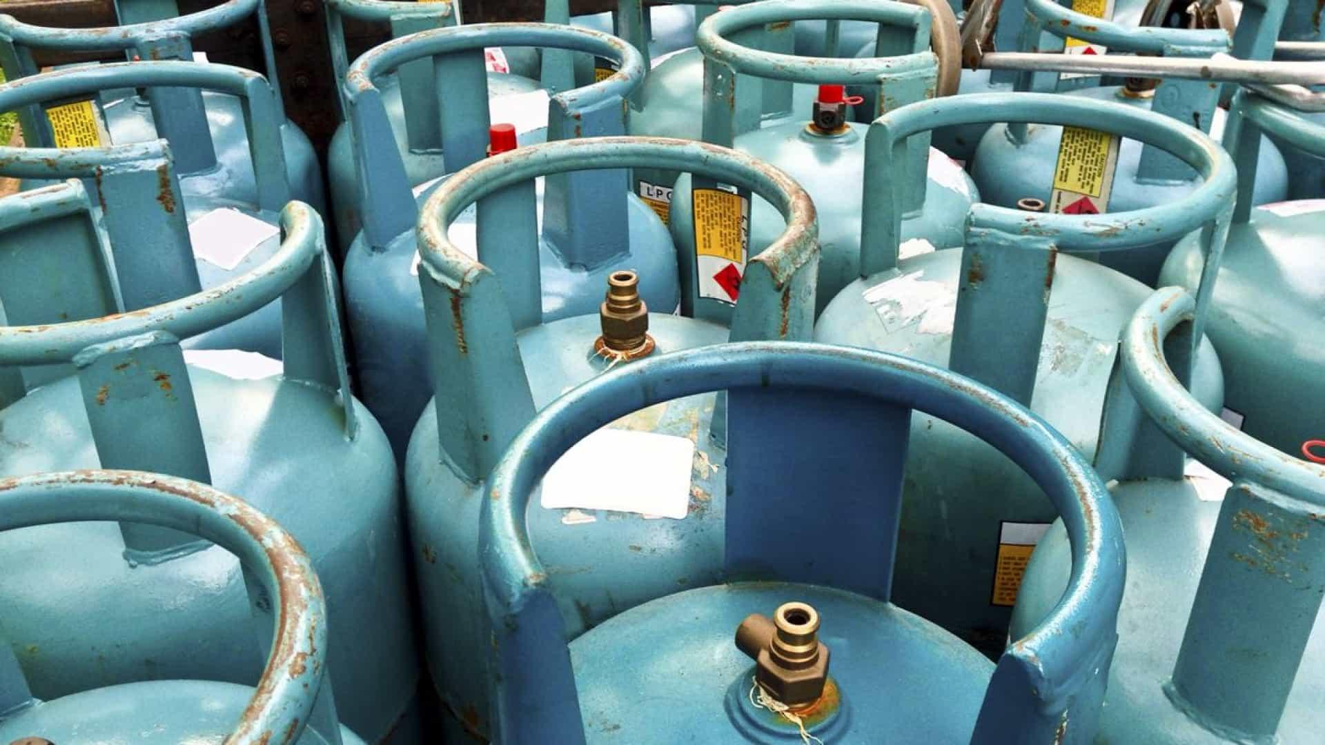 Botijas de gás com limite máximo de preço