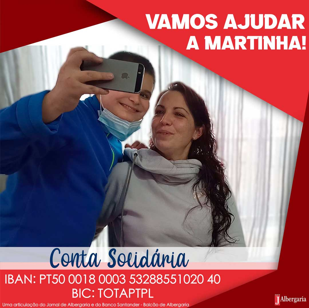 Campanha Solidária: Vamos ajudar a Martinha