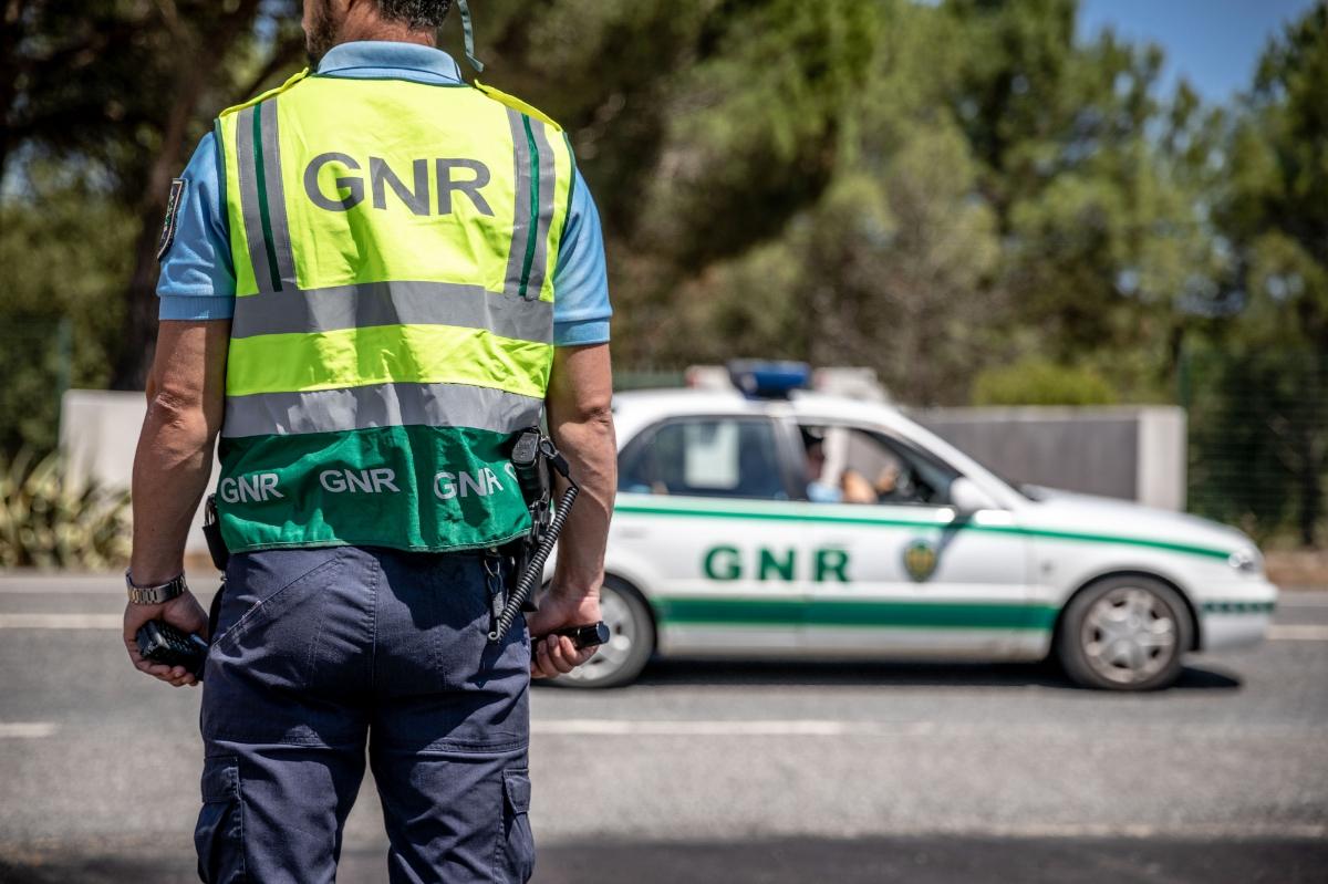 Militar da GNR atropelado em Alquerubim