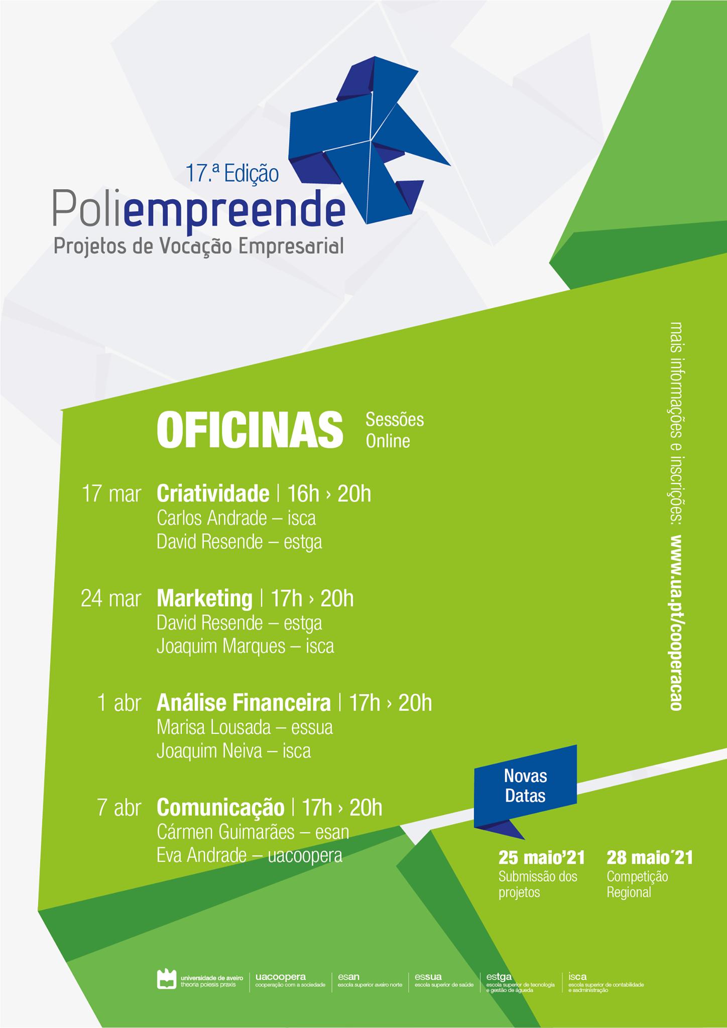 Universidade de Aveiro participa em projeto de empreendedorismo