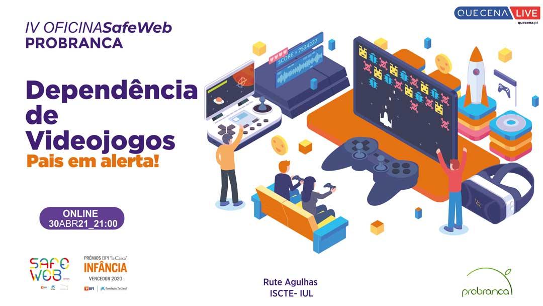 Probranca organiza sessão online sobre dependência de videojogos