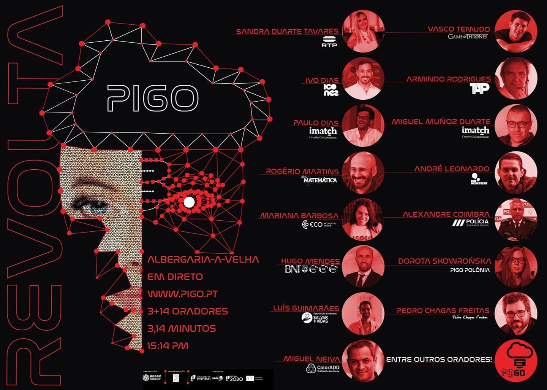 """Este mês a """"revolta"""" vai tomar conta do PIGO"""