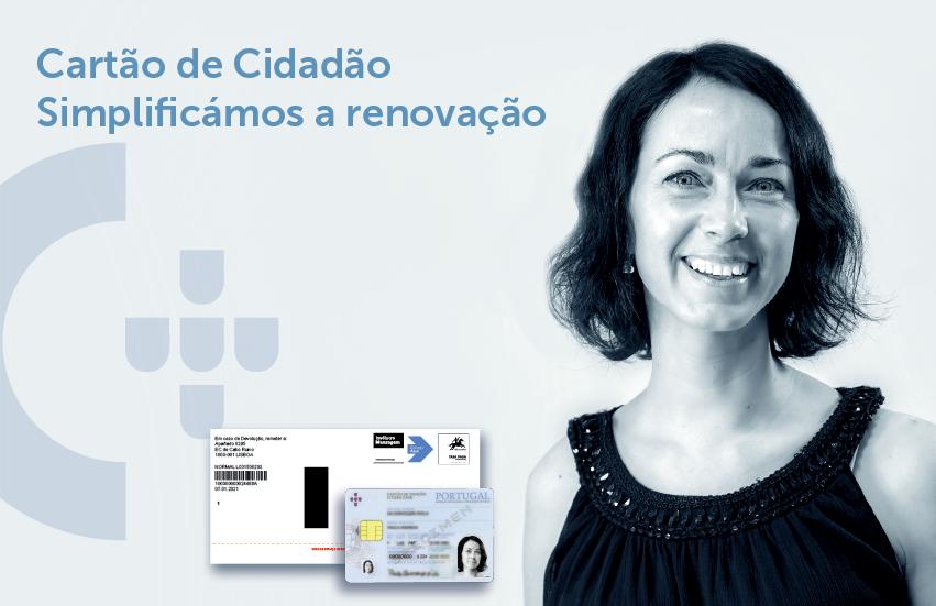Renovação automática do cartão de cidadão com entrega em casa