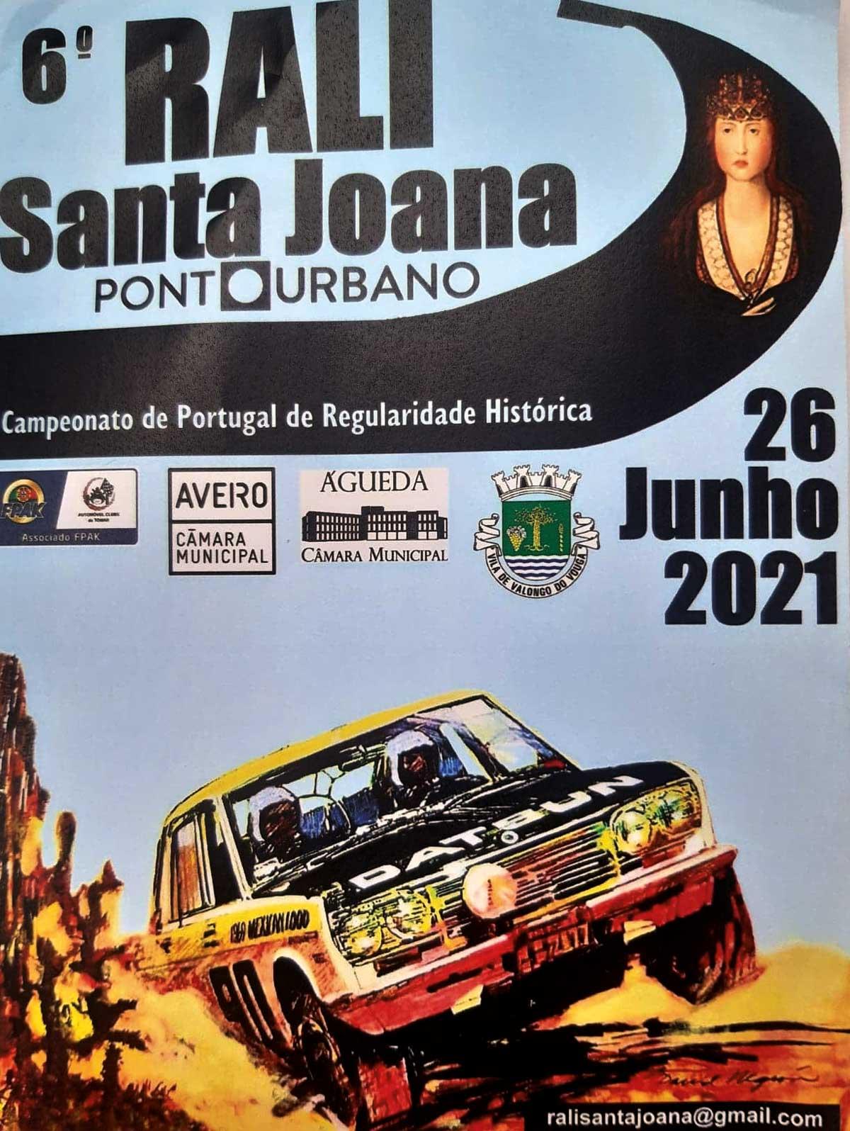 Rali Santa Joana vai para a estrada este mês